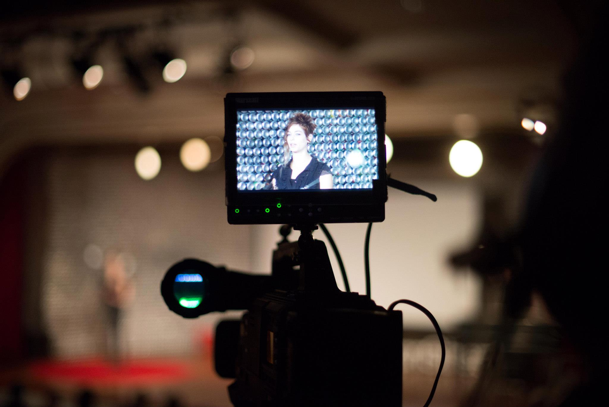 Ted talk camera