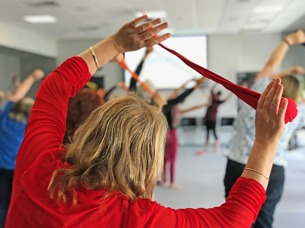 Spinning poi may be beneficial for improving quality of life for those with Parkinson's.
