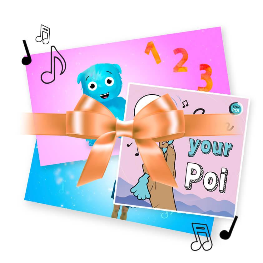 Poi for Kids Pre-School Pack